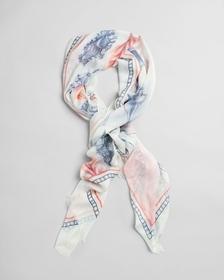 Seashell Schal mit Print