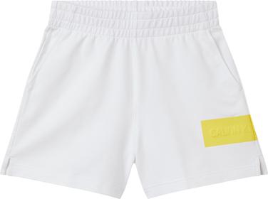 Jogging-Shorts mit Logo-Prägung