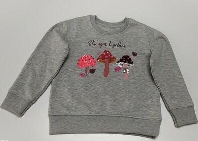 Sweatshirt mit Motivprint