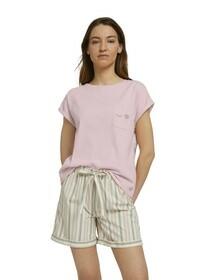 Shirt, 1/2 A. Rundhals