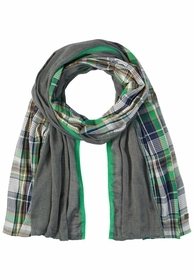 Leichter Schal aus reiner Baumwolle