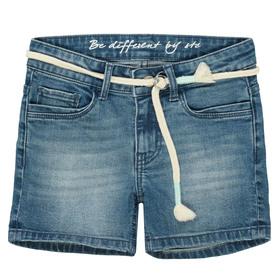Jeans Shorts mit Gürtel