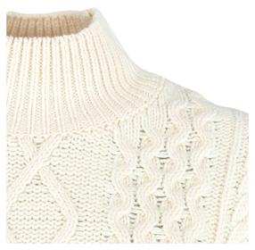 Turtleneck-Pullover aus softem Schurwolle-Mix