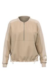 Sweatshirt aus Materialmix