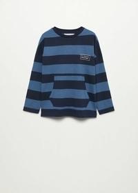 Langärmliges T-Shirt mit Streifen
