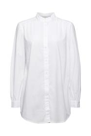 Women Blouses woven long sleeve