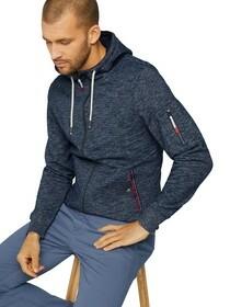 detailed sweatjacket