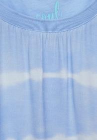 T-Shirt im Batik Look