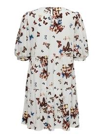 ONLNEW PELLA 2/4 PEPLUM DRESS JRS