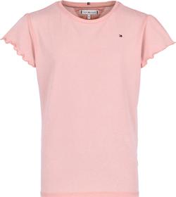 Essential Ruffle Ärmel T-Shirt