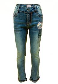 Jeans mit Traktor-Abzeichen