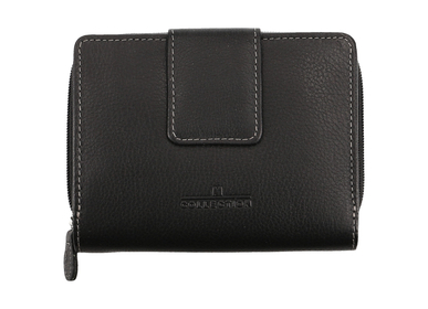 Damenbörse, black, .-black