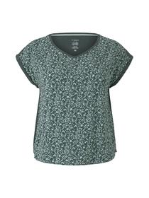 T-shirt mix match v-neck