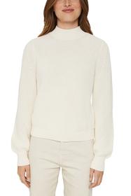Stehkragen-Pullover aus 100% Bio-Baumwolle