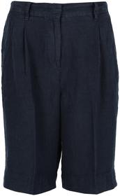 Bermuda-Shorts aus reinem Leinen