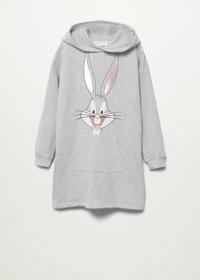 Bugs Bunny Sweatshirt-Kleid