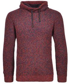 Strick-Pullover mit Kragen