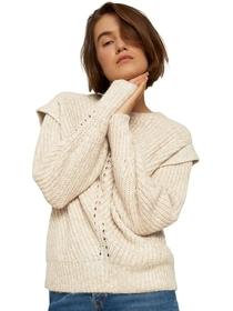 overcut shoulder pullover