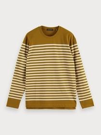 T-Shirt mit Bretonstreifen
