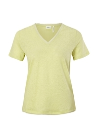 T-Shirt aus purem Leinen