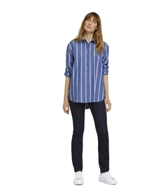 blouse modern poplin