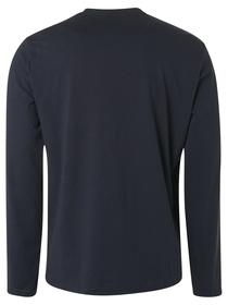 T-Shirt Long Sleeve Crewneck Solid Organ