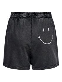 "Smiley-Rückenprint Sweatshorts ""Onlsmiley"""