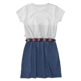 Kleid mit Wording-Print