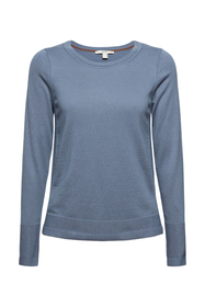 Basic Pullover mit Organic Cotton
