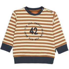 Sweatshirt mit Zahlen-Applikation
