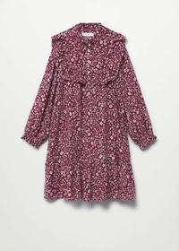 Fließendes Kleid mit Blumenmuster