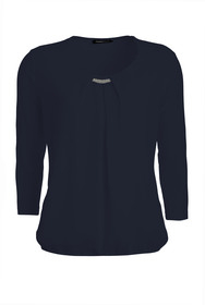 Blusenshirt Nizza mit edlen Details