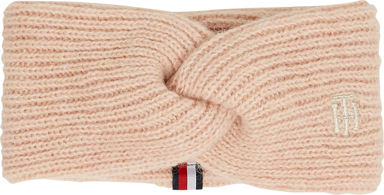 Stirband mit Twist-Detail und Monogramm