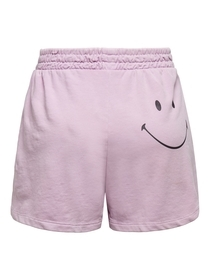 ONLSMILEY LIFE SHORTS SWT