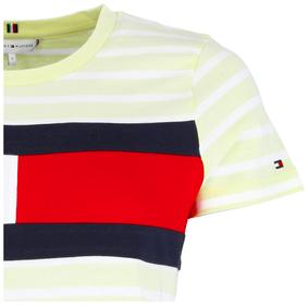 T-Shirt mit Logo Flagge
