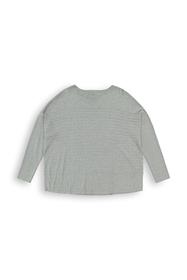 Streifen-Pullover aus Bio-Baumwoll-Mix