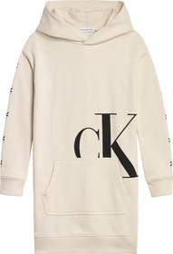 Sweatshirtkleid mit Kapuze