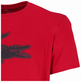 Krokodil-T-Shirt aus Jersey mit 3D Print