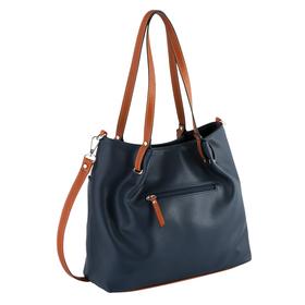 NOVARA, Zip shopper L, dark blue