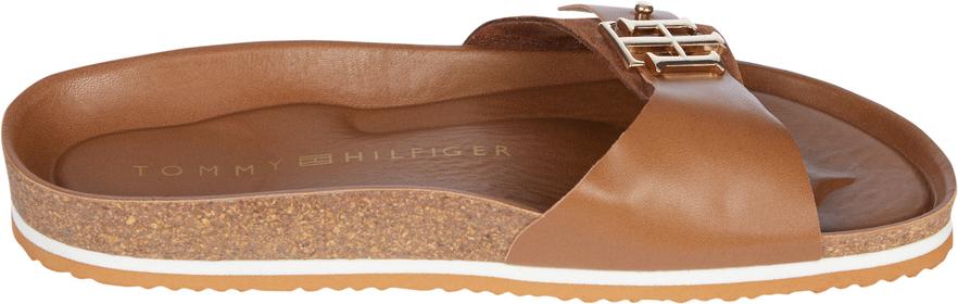 Wildleder-Sandale mit Monogramm