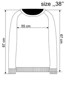 Jacquard-Pullover mit Strukturmuster