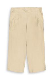 CURVY Leinen: Culotte mit elastischem Bund