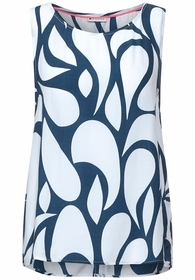 LTD QR Printed blousetop w tap