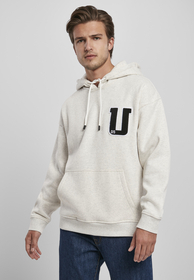 Oversized Frottee Patch Hoody