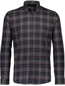 Mouline check shirt L/S
