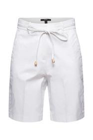 Premium-Shorts aus Twill mit Gürtel
