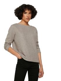 Sweatshirt cozy rib