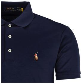 Poloshirt mit Logo-Stickerei