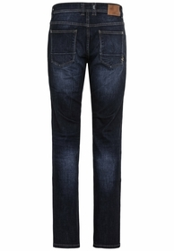 Regular Fit Jeans mit C-Logo aus Baumwolle