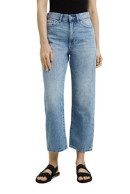 Cropped Jeans aus 100% Baumwolle